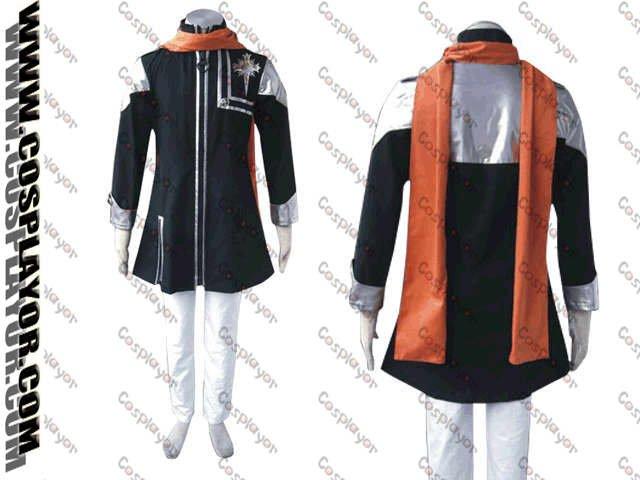 D.Gray Man Lavi Rabi Cosplay Costume