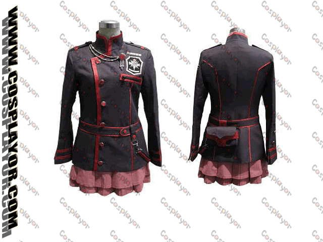 D.Gray Man Lenalee Lee Cosplay Costume new version