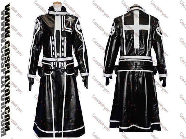 D.Gray-man kanda Yu 2nd Cosplay Costume