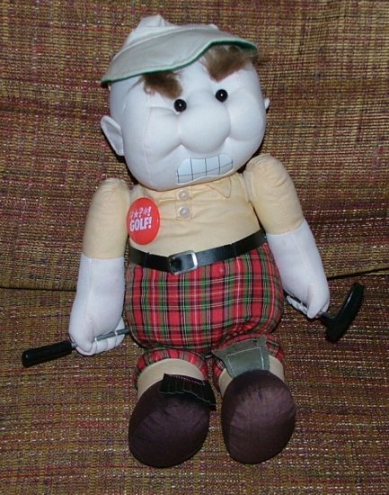 Frustrated Golf Players Tear Apart Stress Doll Golfer Doll Adults