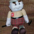 Frustrated Golf Players Tear Apart Stress Doll, Golfer Doll Adults only! Circa 1980