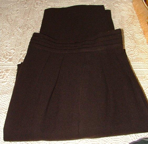 Brown Ports International Wool Crepe Slacks 6