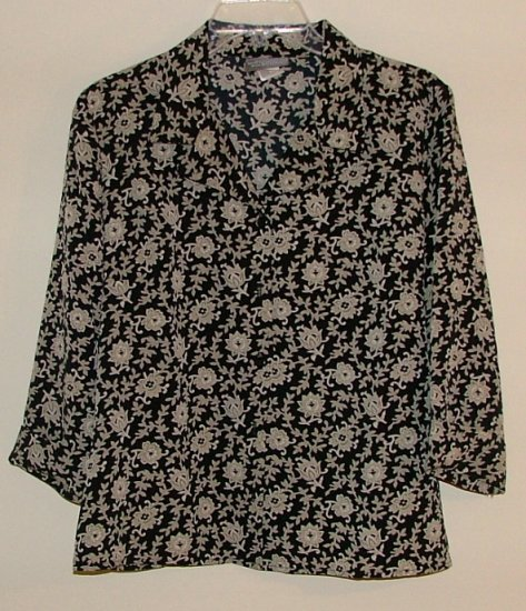 Kathy Ireland Blouse Large
