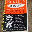 Berlitz German for Travelers by Berlitz Editors Staff Illustrations By Melita