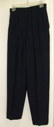 Jaeger Classic Blue Wool Slacks 6