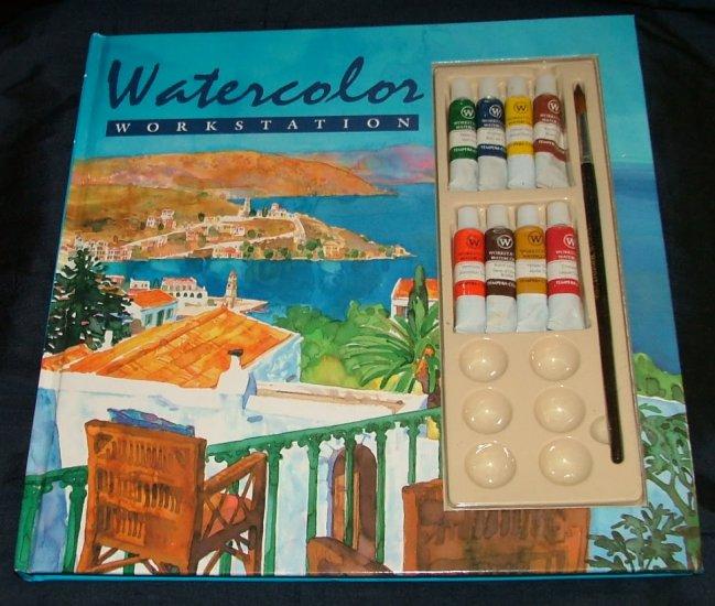 Watercolor Workstation by Rita Warner, Polly Raynes, Brenda Jackson