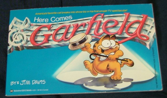 Here Comes Garfield by Jim Davis First Edition