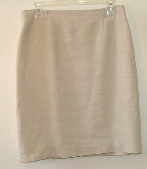 """Rene Lezard""  Skirt - Tan L"