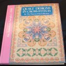Quilt designs in cross-stitch An American sampler by Vanessa-Anne Collection [First Printing]