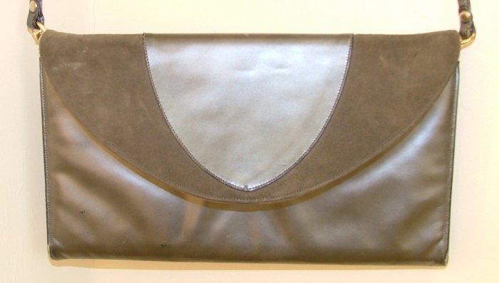 Vintage 1980's Gray Purse
