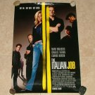THE ITALIAN JOB Original Movie Theater Poster