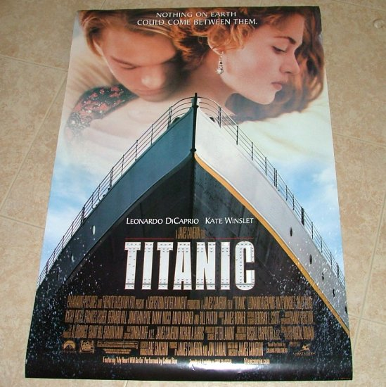 titanic version a recalled movie poster double sided