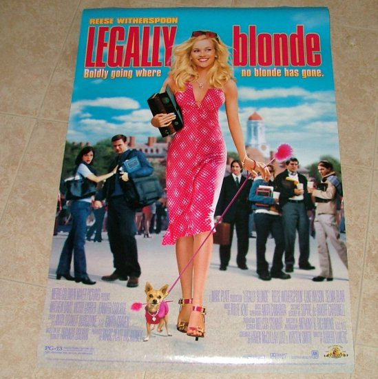 LEGALLY BLONDE Original Movie Theater Poster