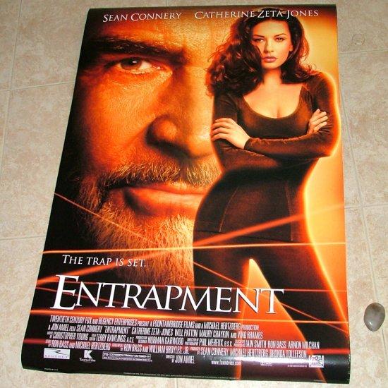 ENTRAPMENT Original Movie Theater Poster