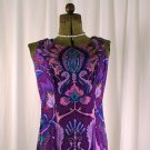 Custom Purple cotton dress size 6-8