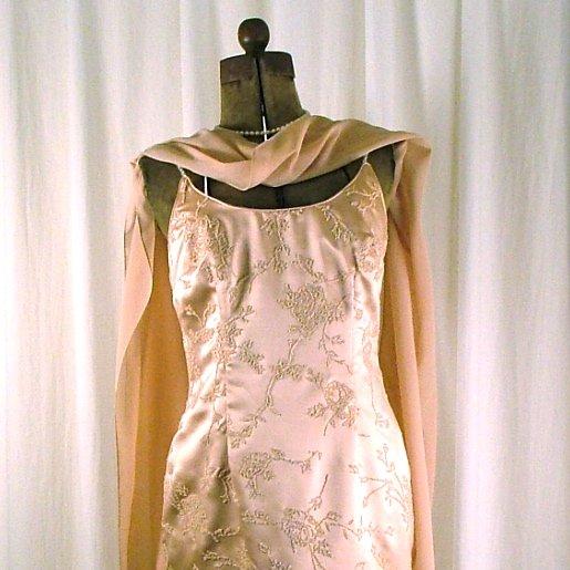 La Nuit Rose Blush Cocktail Dress size 6