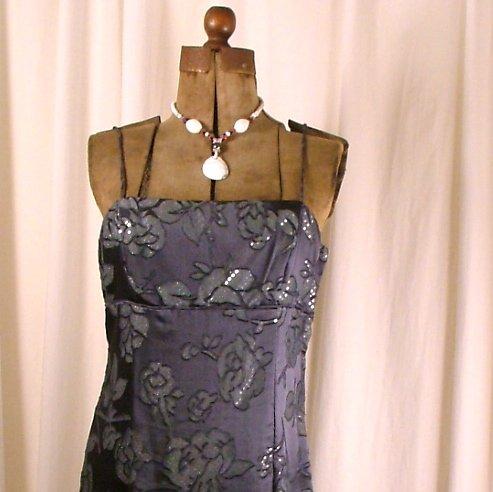 De-Laru Dark grey with sequins sz 11/12