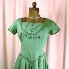 Vintage Green dress 1950-1960's