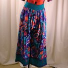 Vintage 80&#39;s Jeanne MARC Plazzo Print Pants Small 8/10