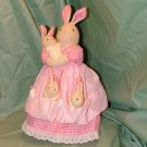 Mother Rabbit and 3 Baby Bunnies Crafted Creations by Russ Barrie