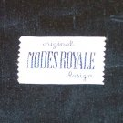ORIGINAL MODES ROYALE DESIGN LABEL