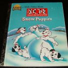 Snow Puppies Disney's 101 Dalmatians a Little Golden Book by Barbara Bazaldua, Don Williams 1st
