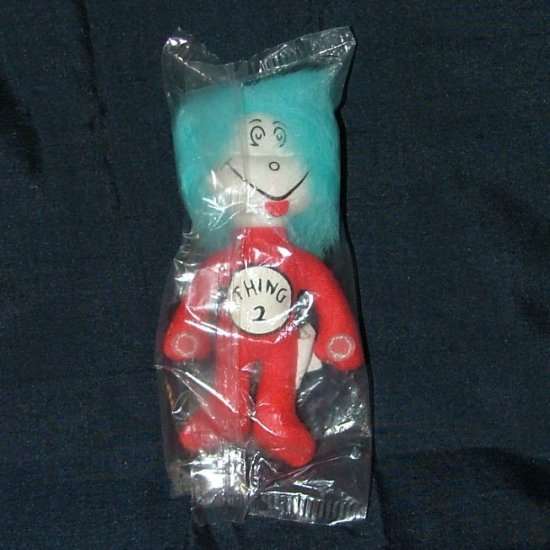 """Dr. Seuss Cat In The Hat """"THING 2"""" Official Movie Merchandise Plush, Stuffed Animal"""