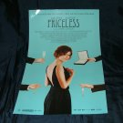 Priceless (French: Hors de prix)   11 x 17 Movie Poster