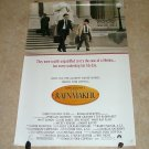 John Grisham's The Rainmaker Original Movie Theater Poster