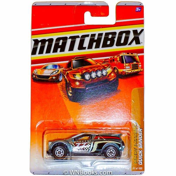 2010 Matchbox Grey Desert Endurance Quick Sander #87