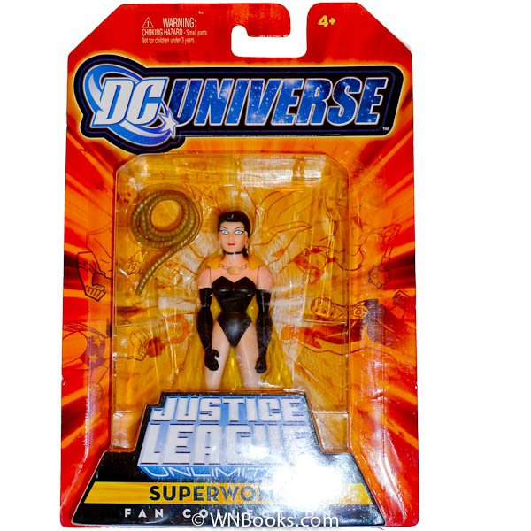 DC Universe Justice League Unlimited Fan Collection Action Figure Superwoman