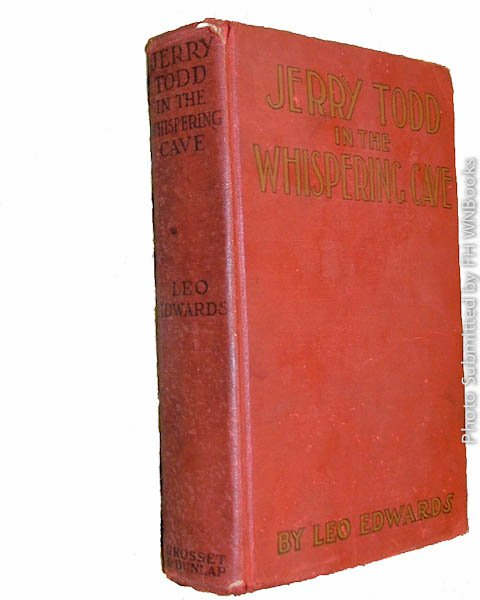 Jerry Todd in the Whispering Cave by Leo Edwards (1927) antique book