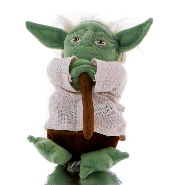 Hasbro Star Wars Mini Plush - Yoda Battle Buddy and Gimer Stick, Stuffed Animal
