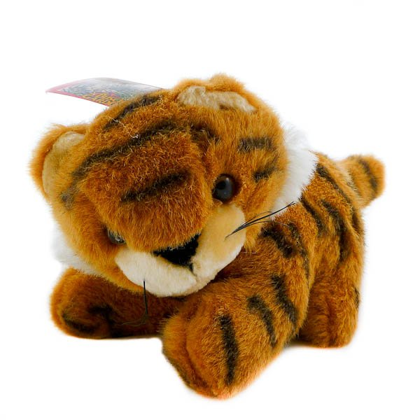 Tiger Kitten Extinction is Forever Wildlife  1994  Busch Gardens, Stuffed Animal, Cat