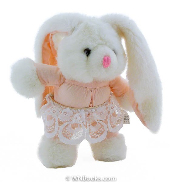 Lop Earred Ballerina Bunny Rabbit, Stuffed Animal