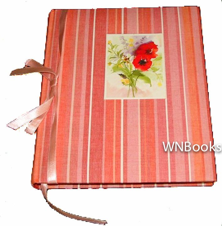 Markings Poppy Journal Striped Cover