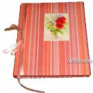 Markings Poppy Journal Striped Cover