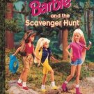 Barbie & the Scavenger Hunt (A Little Golden Book) by Mary Packard [First Edition]