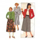 Butterick 3347 Misses Jacket and Skirt Uncut  -Vintage 1980's