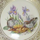 Lenox Annual Limited Edition American Bird Plate  Golden Crowned Kinglets -  Boehm Birds  1979