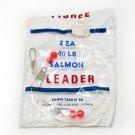 Vintage Fishee 2ea 40 lb Salmon Leader
