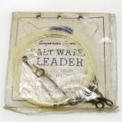 Erwin Weller Superior Quality Salt Water leader 40 lb Nylon No 12SW40 12 foot 20 in drop