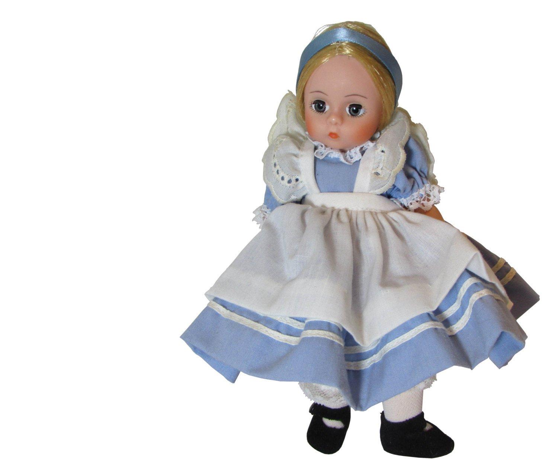 Madame Alexander Alice in Wonderland, Storyland Doll, Storybook Miniature Showcase 494
