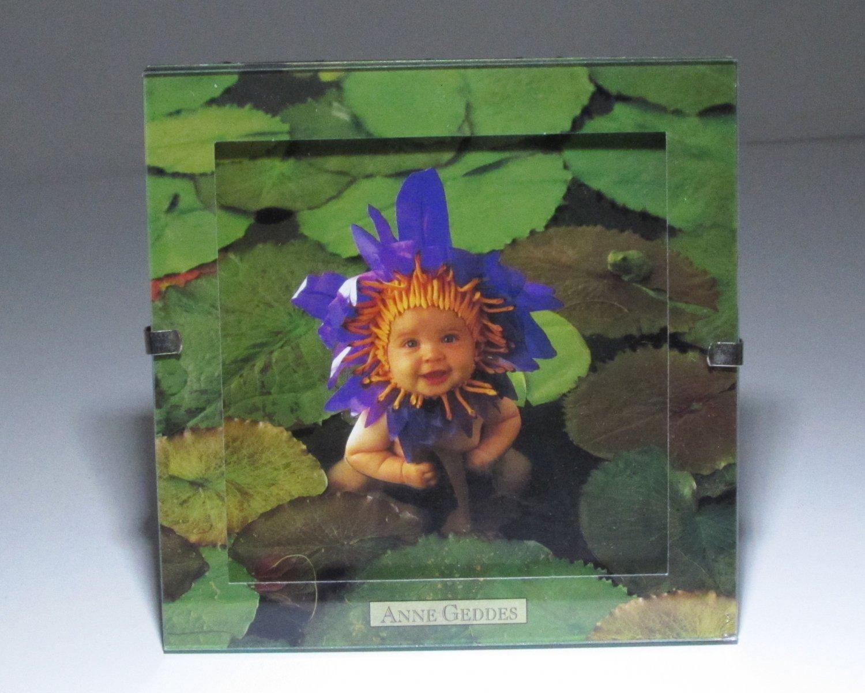 """Anne Geddes Waterlily 5"""" x 5"""" in Clip Photo Frame"""