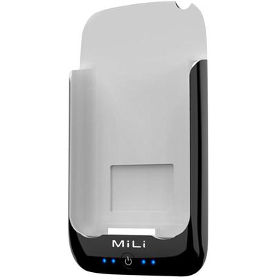 MiLi Power Pack for iPhone 2G/3G/3GS & iPod Touch (Black/Gray) + Free screen protector & shipping
