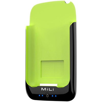 MiLi Power Pack for iPhone 2G/3G/3GS & iPod Touch (Black/Green) + Free screen protector & shipping