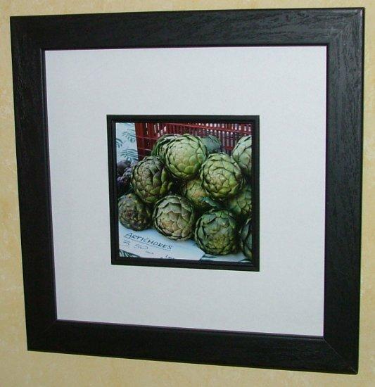 "Framed ""Artichokes ""  by Random Oasis Photography"