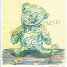 I Got The Blues Bear - Limited Edition Print