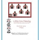 File Folder Game - Little Cow Family (ame-an) PDF Format