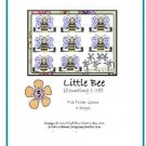 File Folder Game - Little Bee(Counting 1-15) PDF Format